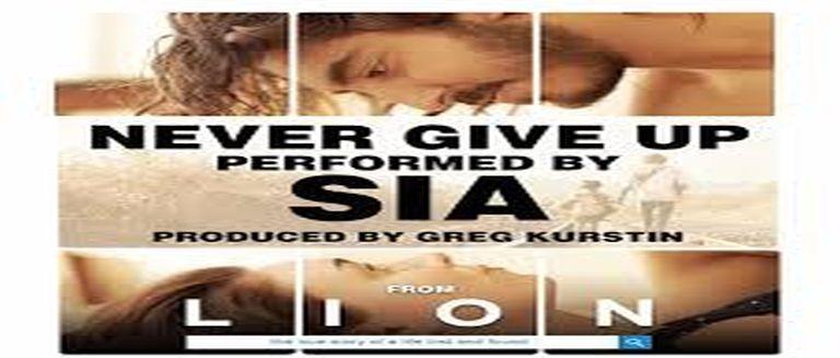 Sia - Never Give Up czasoumilacz